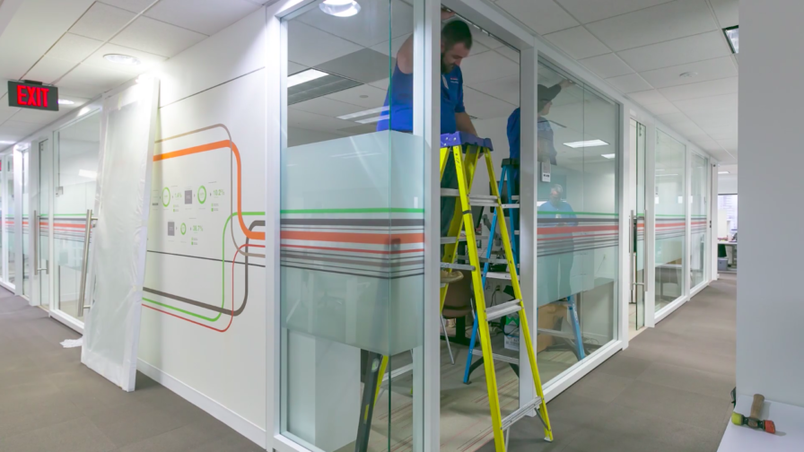 KI Genius Wall Installation