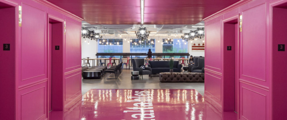 Check out Office Snapshot's feature on one of our projects, Social Tables