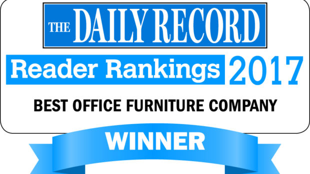 American Office Voted as The Daily Record's Best Office Furniture Company!