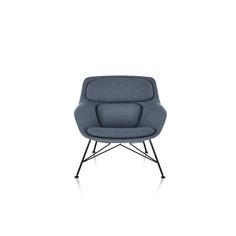 Striad Lounge Chair and Ottoman thumbnail 3